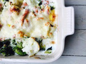 Ovenschotel van broccoli