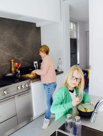 De keuken van