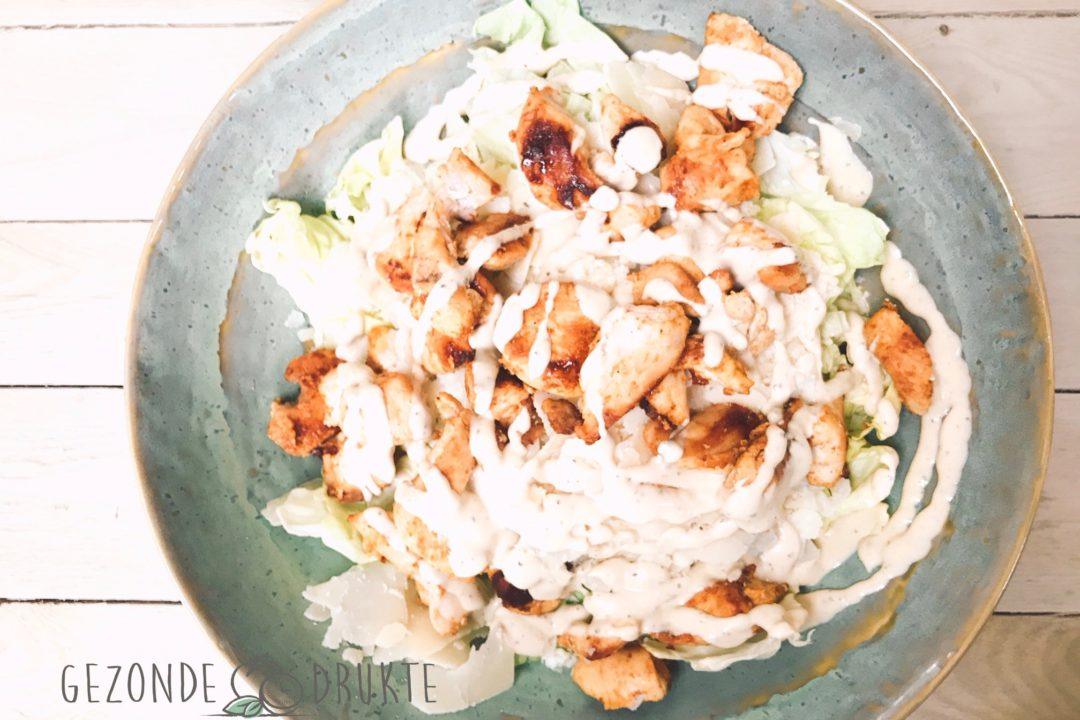 Caesar salade Gezond Gezonde Drukte