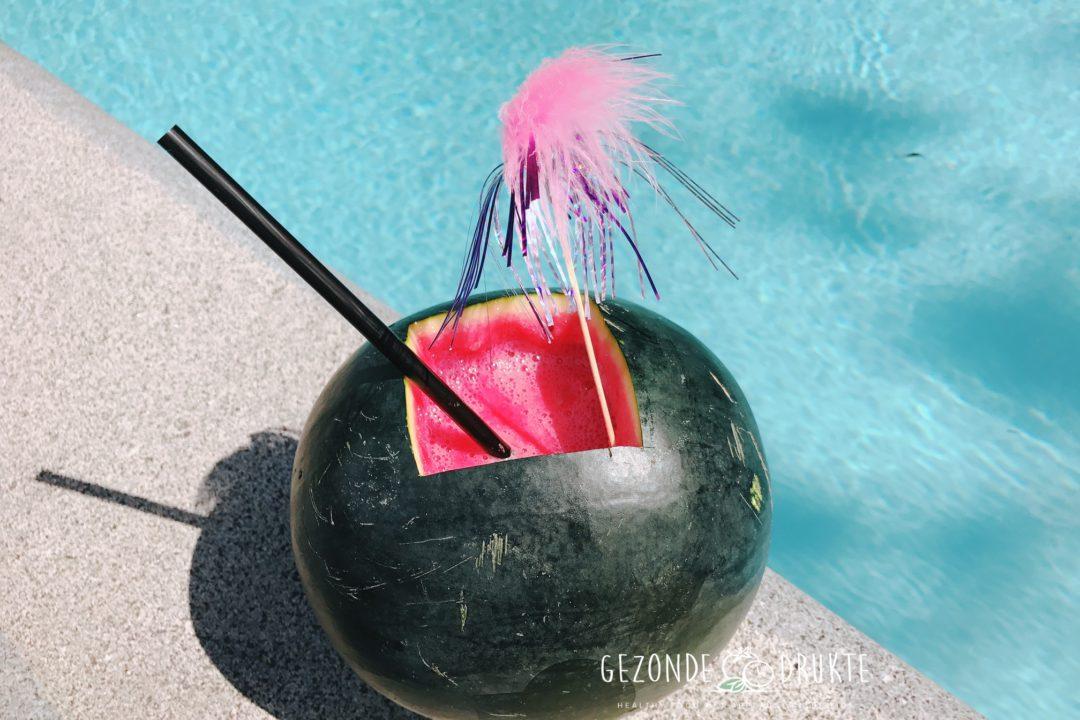 Watermeloen Cocktail Gezond Gezonde Drukte