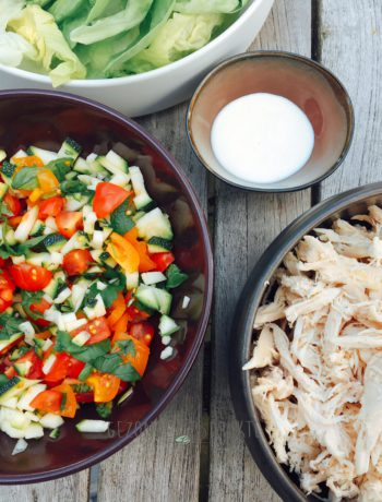 tacoschelpen courgette gerechten