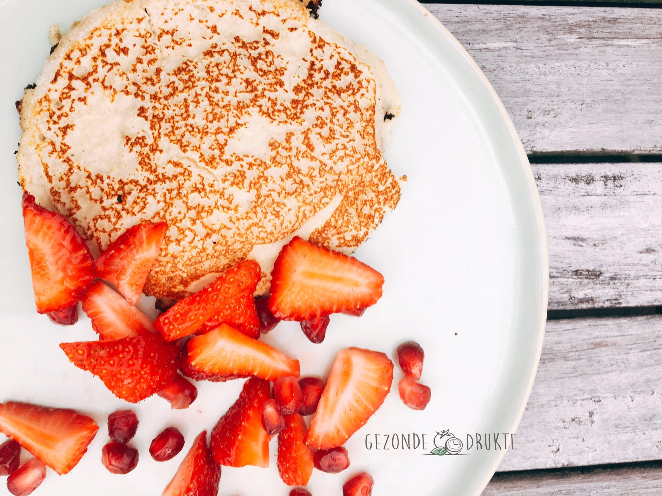 Pannenkoeken met fruit