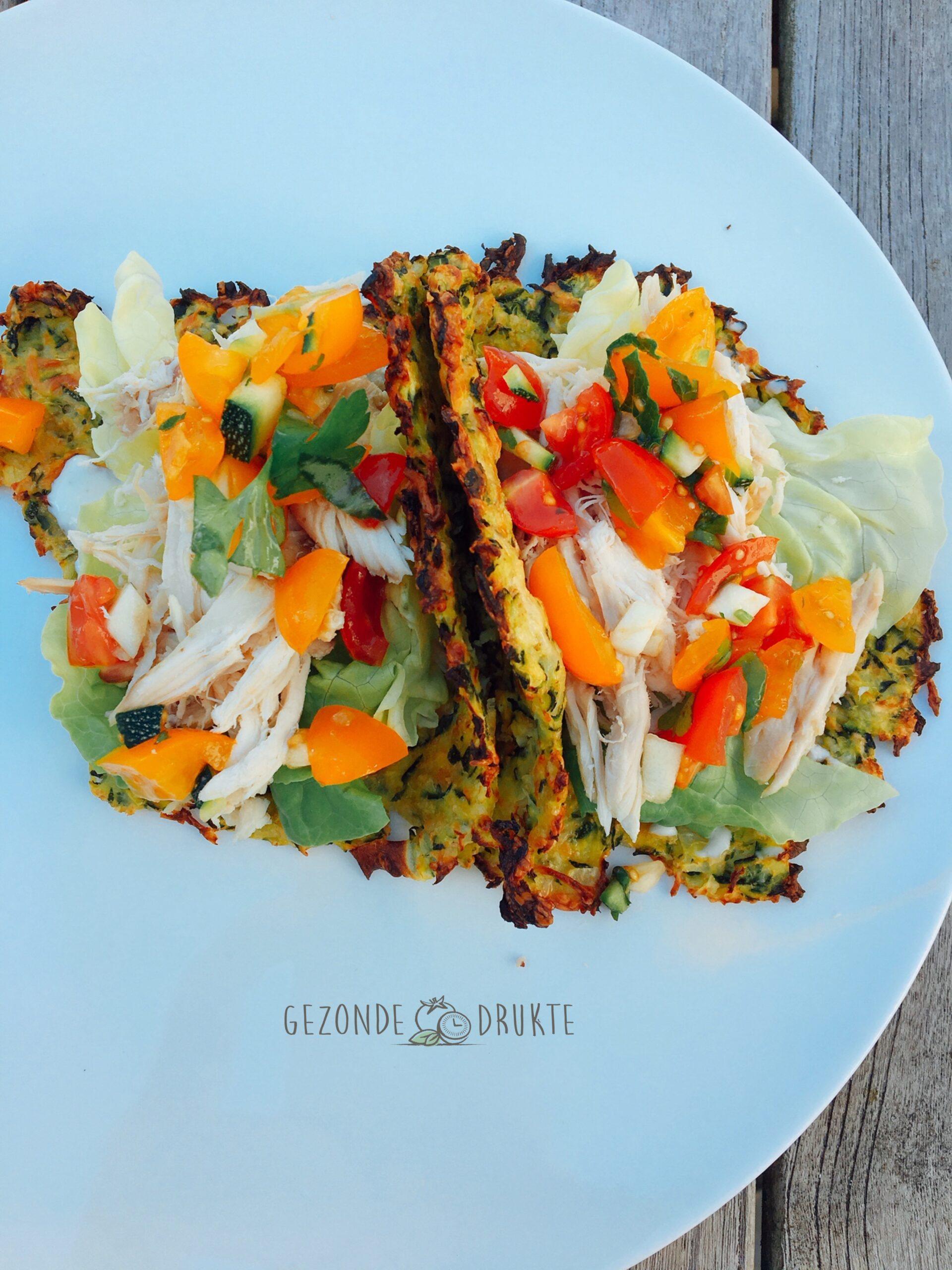Tacoschelpen courgette
