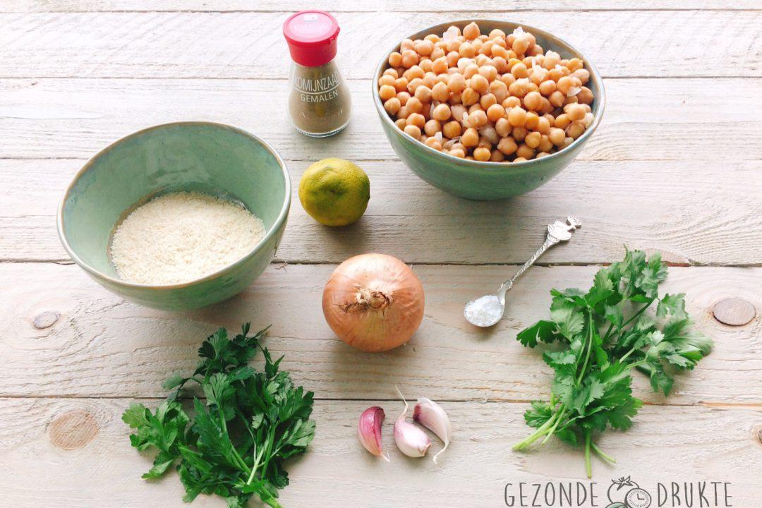 falafel met tzatziki gezonde drukte fingerfood