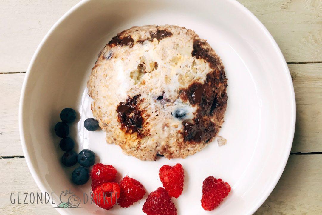 Mug cake gezond gezonde drukte