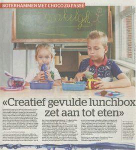 Gezonde lunchbox Het Laatste Nieuws