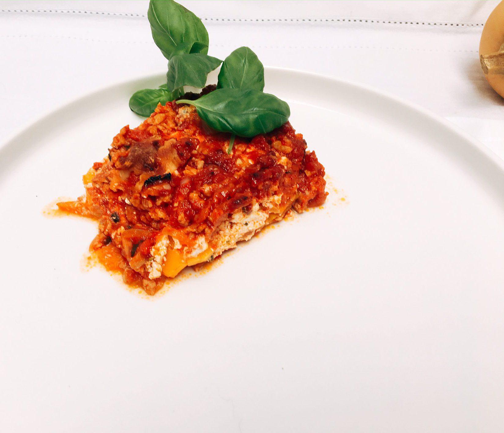 Lasagne pompoen