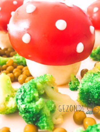 paddenstoel met witte stippen
