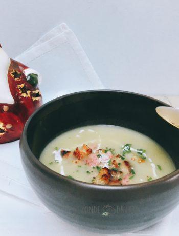 romig feestelijk soepje venkel