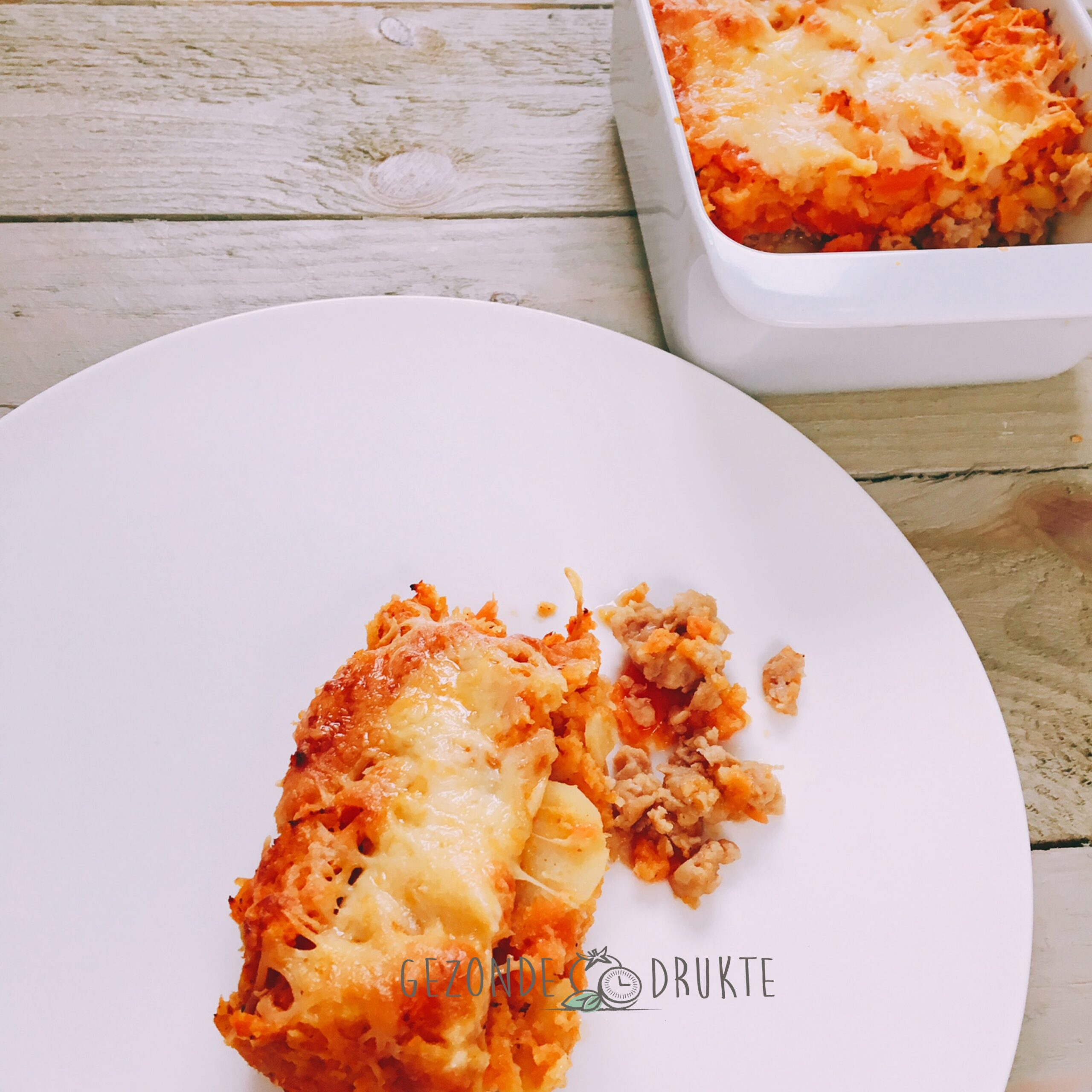 Hachis parmentier the healthy way