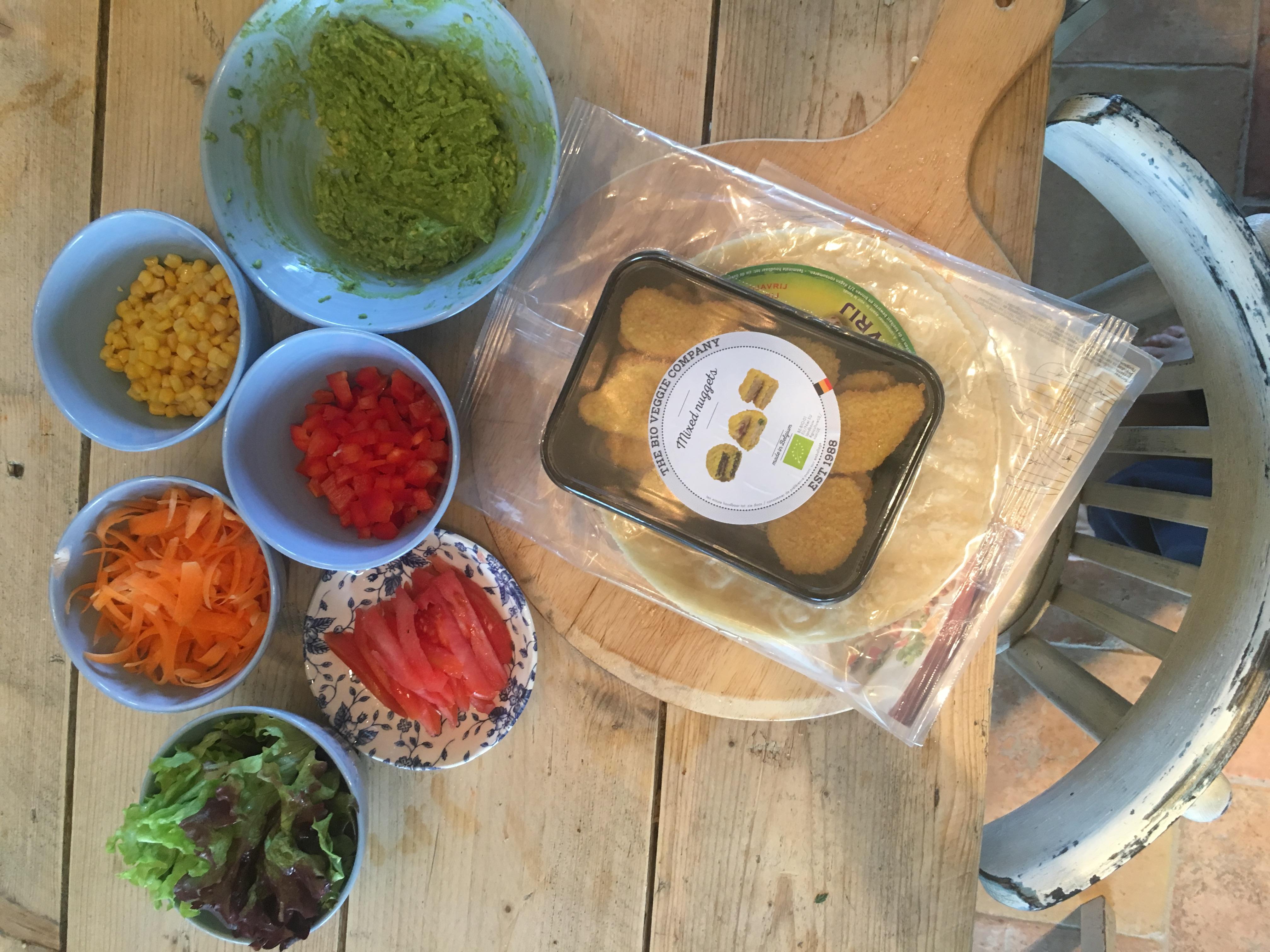 In de keuken van Delphine en Jan The Bio Veggie Company