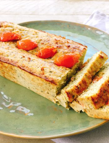 Havermoutbrood met pesto