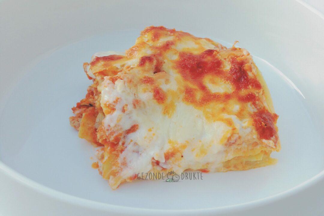 Lasagne bolognaise belhamel gezonde drukte
