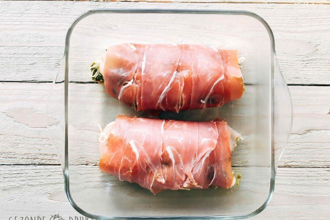 Italiaanse kip met pompoencrèma gezond gezonde drukte