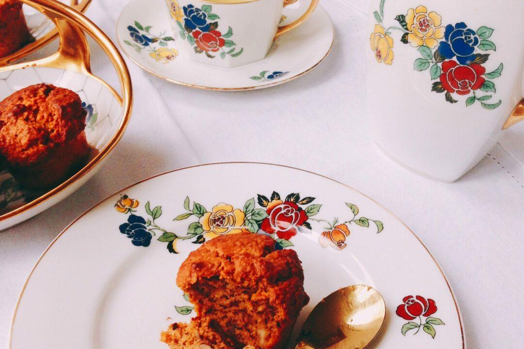 Muffin zoete aardappel havermeel Gezonde Drukte