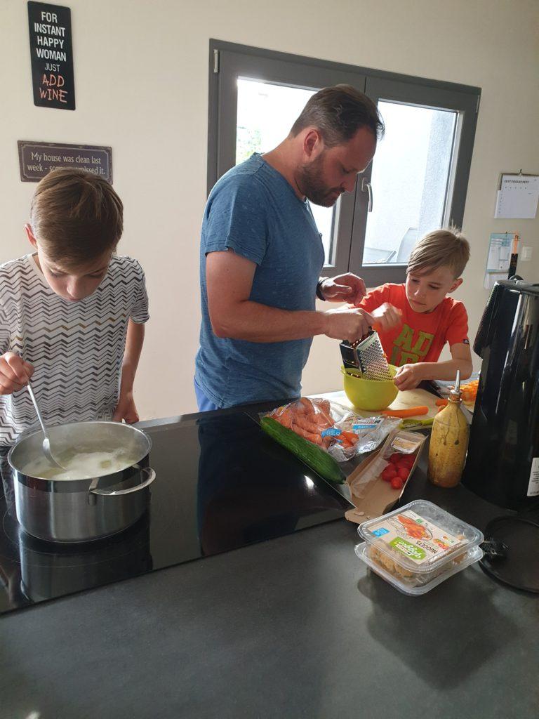 In de keuken van Gezonde Drukte