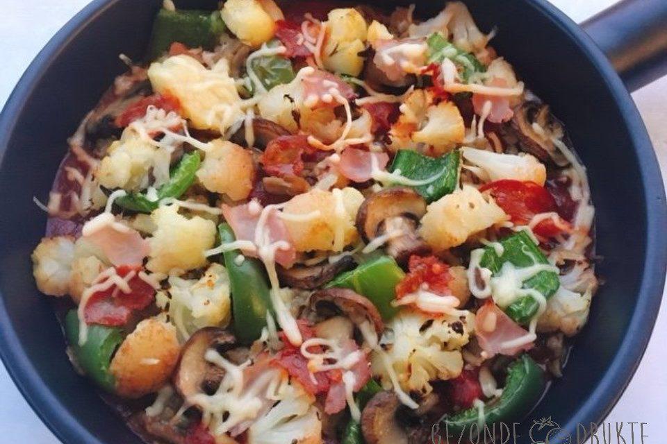 Pizza ovenschotel Gezonde Drukte gezond