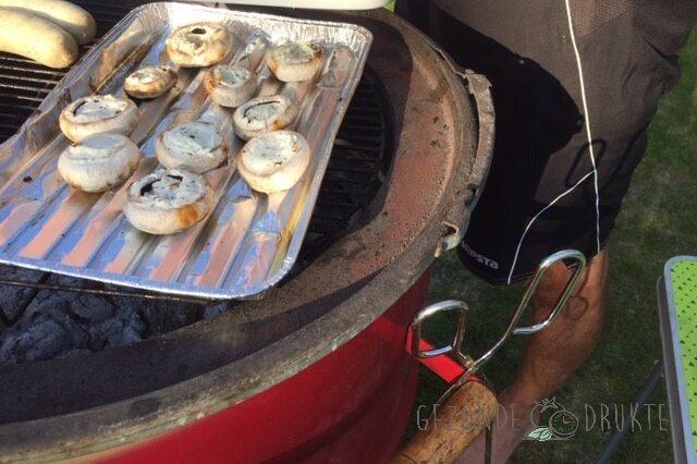 gevulde champignons gezond Gezonde Drukte